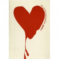 """""""Red Design for Satin Heart"""" est une gravure sur cuivre de Jim dine réalisée pour le """"Portrait de Dorian Gray"""""""