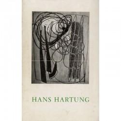 exposition de Hans Hartung à la galerie Lydia Conti, 1947