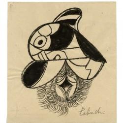 dessin érotique à l'encre exécuté par Yasse Tabuchi