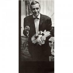 Jean Raine photographié par Marcel Broodthaers, 1972