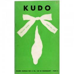 exposition de Kudo à la galerie Mathias Fels, à Paris du 20 avril au 15 mai 1967