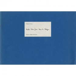 Robert Filliou, Mister Blue from Day-to-Day, 1983