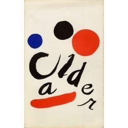 Plaquette exposition Calder, 16 tapisseries, Jacques Damase Gallery, ca. 1974