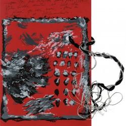 sérigraphie originale pour une carte de vœux de Jacques Haramburu, 1986