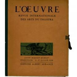 L'œuvre, Revue internationale des arts et du théâtre, 1924-1925
