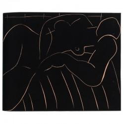 gravure sur lino d'Henri Matisse en hors-texte, 1939