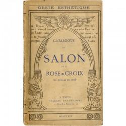 catalogue du salon de la Rose Croix, galerie Durand-Ruel, Paris, 1892
