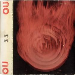 """Revue-disque """"Ou"""" dirigée par Henri Chopin, 1967"""