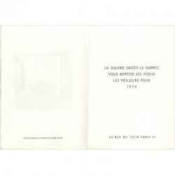 André Minaux voeux galerie Sagot-Le Garrec