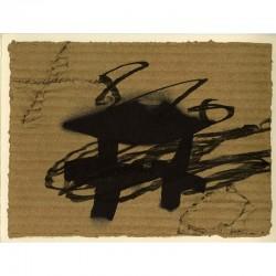 Antoni Tàpies, galerie Lelong, Paris, 1988