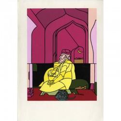 """exposition d'Adami """"Tableaux d'un voyageur"""", galerie Lelong, 1994"""