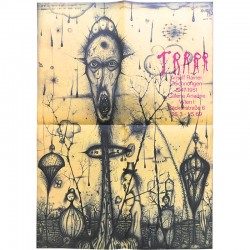exposition d'Arnulf Rainer à la galerie Ariadne, à Vienne, du 26 mars au 1er mai 1969