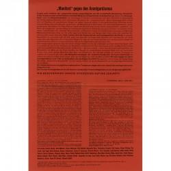 Manifeste contre l'avant-gardisme, Panderma, 1958