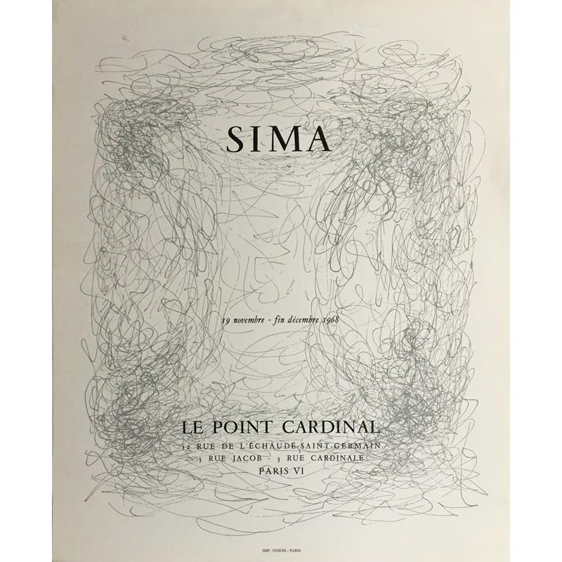 affiche de Josef Sima pour le Point Cardinal