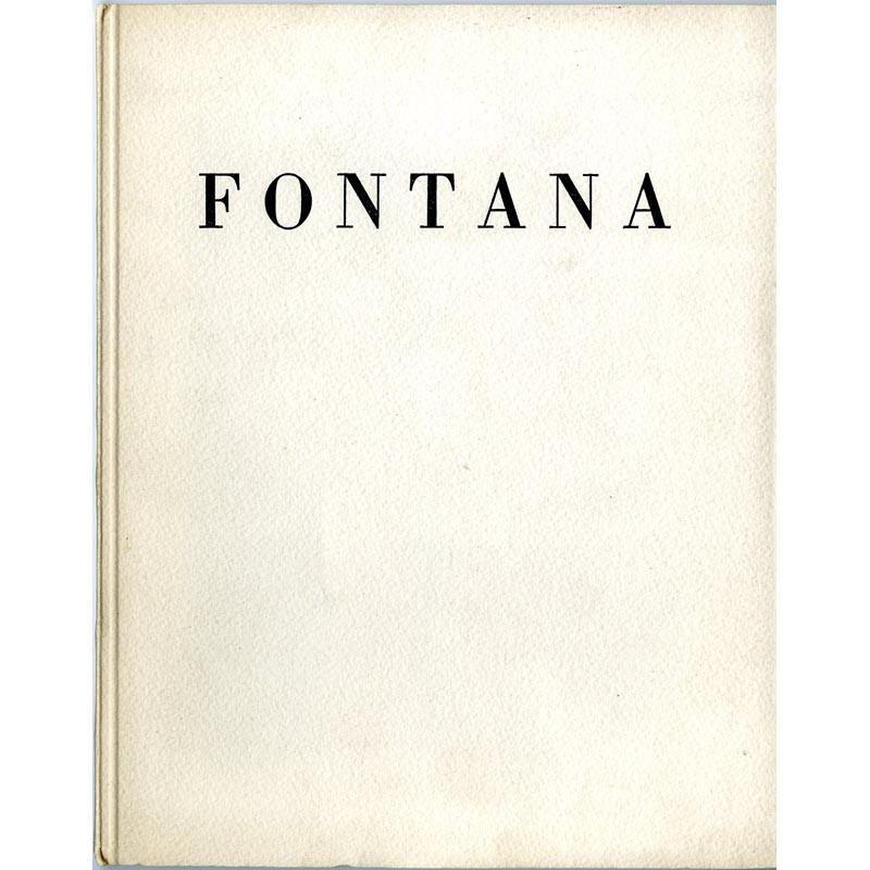 couverture Lucio Fontana, galerie Iolas