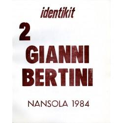 Page de titre de Gianni Bertini, Identikit 2