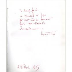 dédicace de Gianni Bertini, Identikit 2