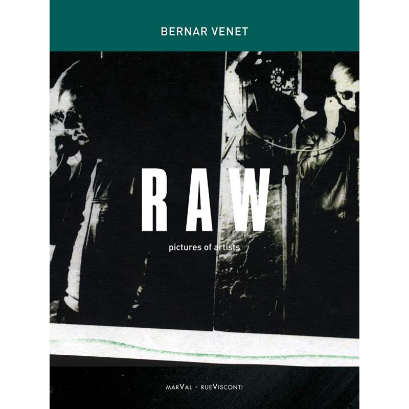 """Couverture du livre """"RAW"""" de Bernar Venet"""